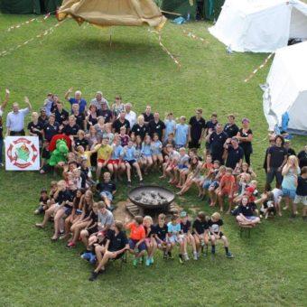 Wenn einer eine Reise tut: Kinderfeuerwehr Kempfenhausen im Zeltlager