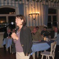 Live von der Bürgerversammlung: Frau Wenzel...