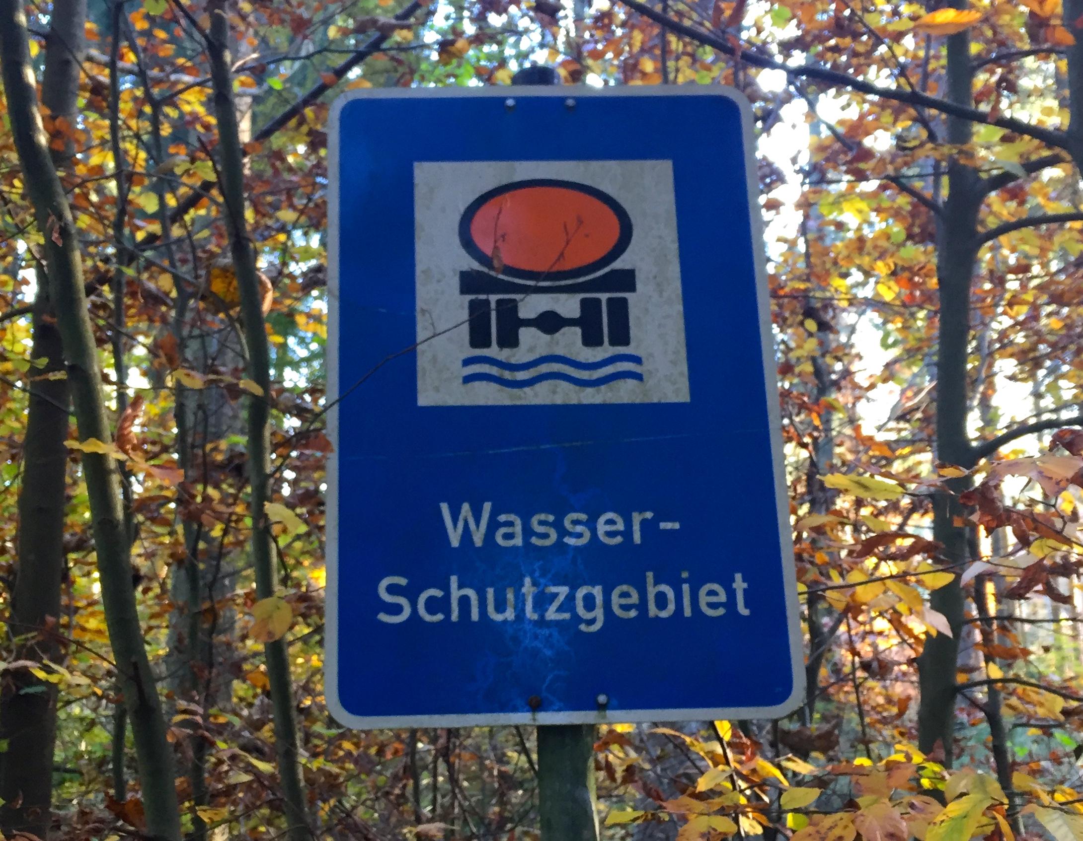 Wasserschutzgebiet Brunnen