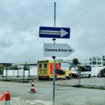 Beim Corona-Test