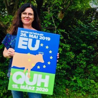 QUH tritt in den EU Wahlkampf ein