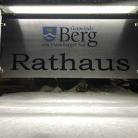 Winterreise - die 3. Gemeinderatssitzung des Jahres in Berg