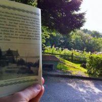 Selbstversuch: mit dem 100 Jahre alten Reiseführer durch Berg