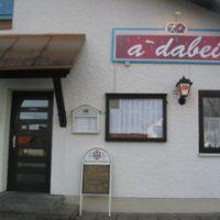 Heute Eröffnung - adabei