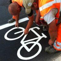 Die Radfahrer: ratlos!