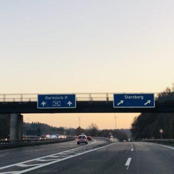 Sperrung AS Schäftlarn Richtung München