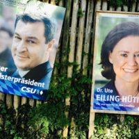 Wahlkampf #2 / heute: die Plakate
