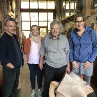 Von der Entdeckung der Winzigkeit und neuen Gästen: der vorletzte Ateliertag