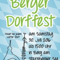 Dorffest in Berg