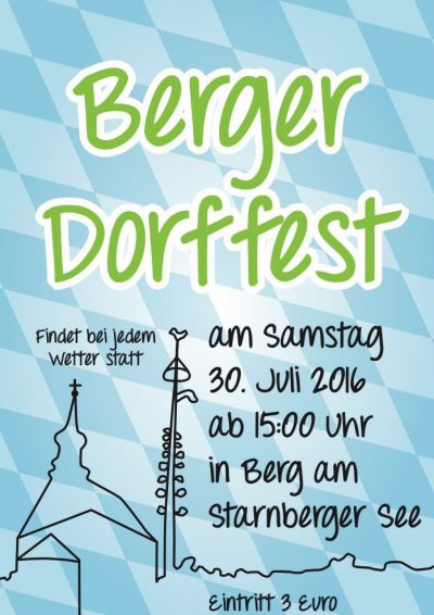 Berger Dorffest 2016