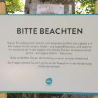 Verbotene Nachrichten: WDL sperrt Seeufer ab!