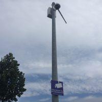 Meine Wertstoffinsel soll schöner werden - CCTV in Berg