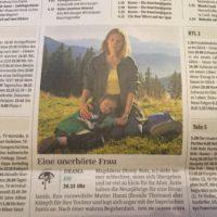 Eine unerhörte Frau - im ZDF