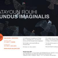 Mundus imaginalis - Katayoun Rouhi in der Haleh Gallery