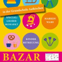 Bazar mit Skimarkt in der Grundschule Aufkirchen