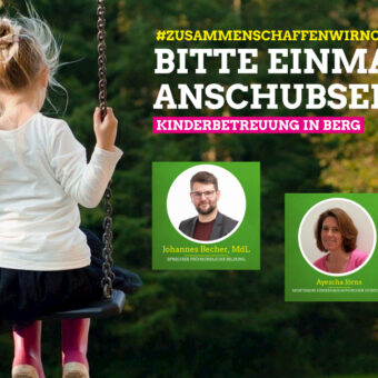 Kinderbetreuung in Berg – eine Online Veranstaltung der Grünen