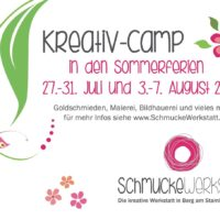 Kreativcamp in den Ferien