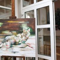 Das Kunstwerk des Monats April: Wald, Wolf, Wildnis