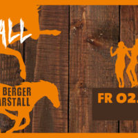 Endlich tanzen: das 2. Stallfest im Berger Marstall