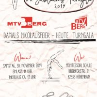 Der MTV lädt zur Jubiläums-Turngala