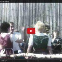 Der Maibaum vor 45 Jahren