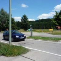 Kein Kreisverkehr am Ortseingang!