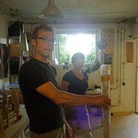 In Berger Ateliers Folge 5: Bei Hans Panschar in Allmannshausen