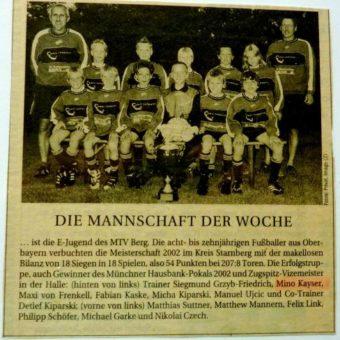Heute Fußball: Suche und Sieg