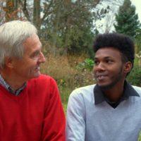 Asyl in Berg: Paten-Paare 2 - Rashid und Bernhard