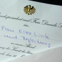 Bundespräsident Gauck empfängt Bergs dritte Bürgermeisterin Elke Link