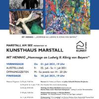 Kunst im Marstall - und ein Konzert mit Julian Schad