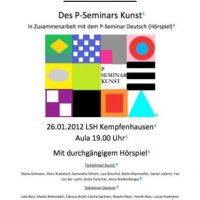 Öffentliche Ausstellung im LSH Kempfenhausen