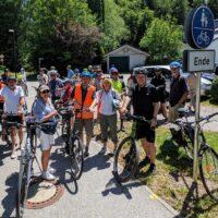 """Die """"Radl Hotspot Info Tour"""" der Bürgerbeteiligung Berg"""