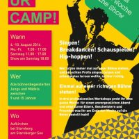 Ein neues Ferienangebot - das Kulturcamp