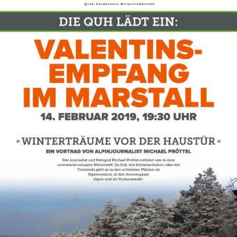 Einladung zum Valentinsempfang