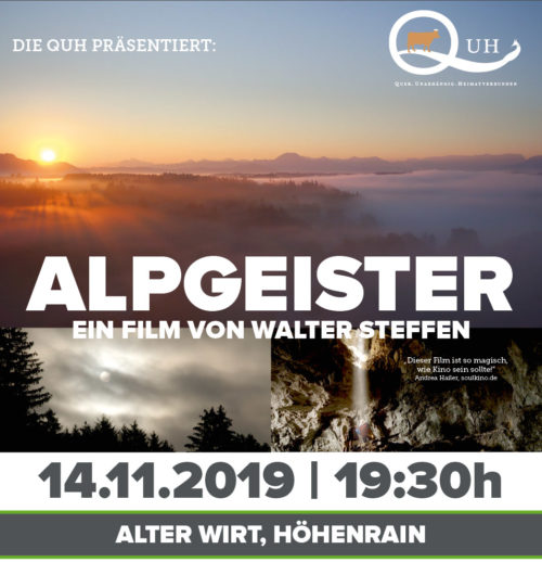 QUH-Alpgeister