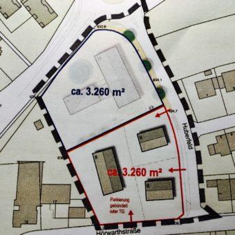Hereingestimmte Blitznachricht: Rathausneubau in Berg
