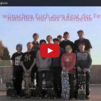 Die Skater vom Skatepark Berg