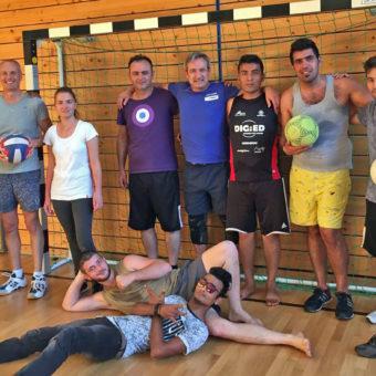 Asyl in Berg: Integrationssport beim MTV Berg