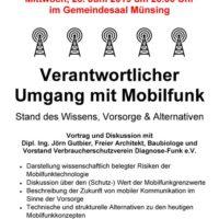 Ein Gruß aus der Nachbarschaft: Vortrag zum Umgang mit Mobilfunk