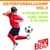 Osterfußballcamp Vol. 2 beim MTV Berg