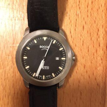 Lost & found: heute eine Uhr