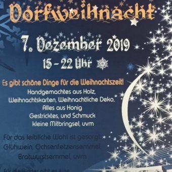 Bachhauser Dorfweihnacht 2019