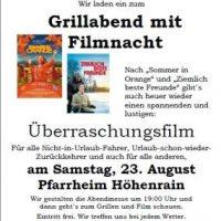 Samstag Filmnacht