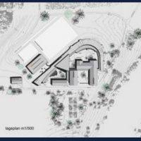 Entwürfe für die Montessori Schule auf Gut Biberkor