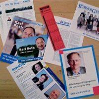 Partei-Flugblätter im Praxistext