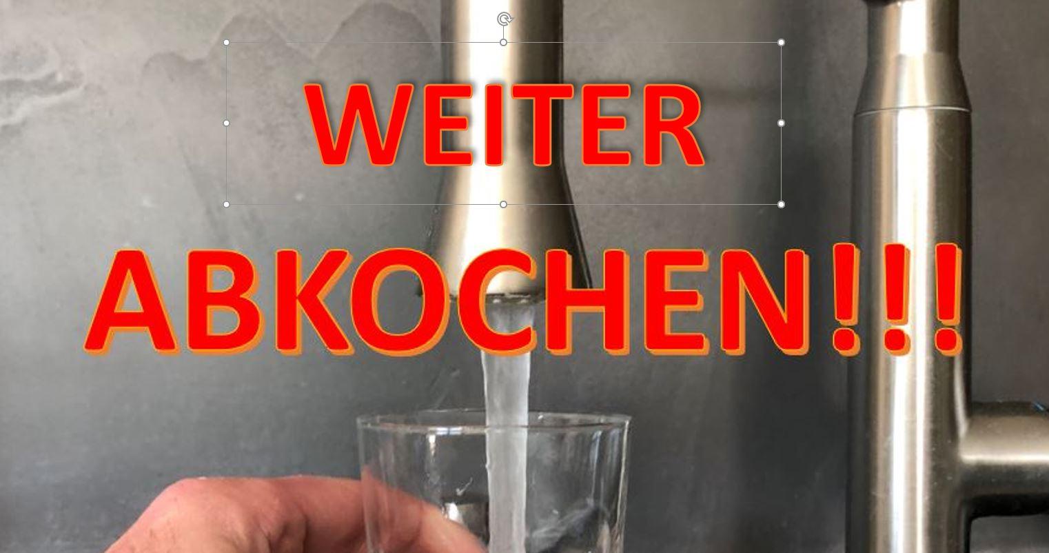 Hervorragend Update: Hereingeregnete Bakterien: Berger Trinkwasser weiterhin SB49